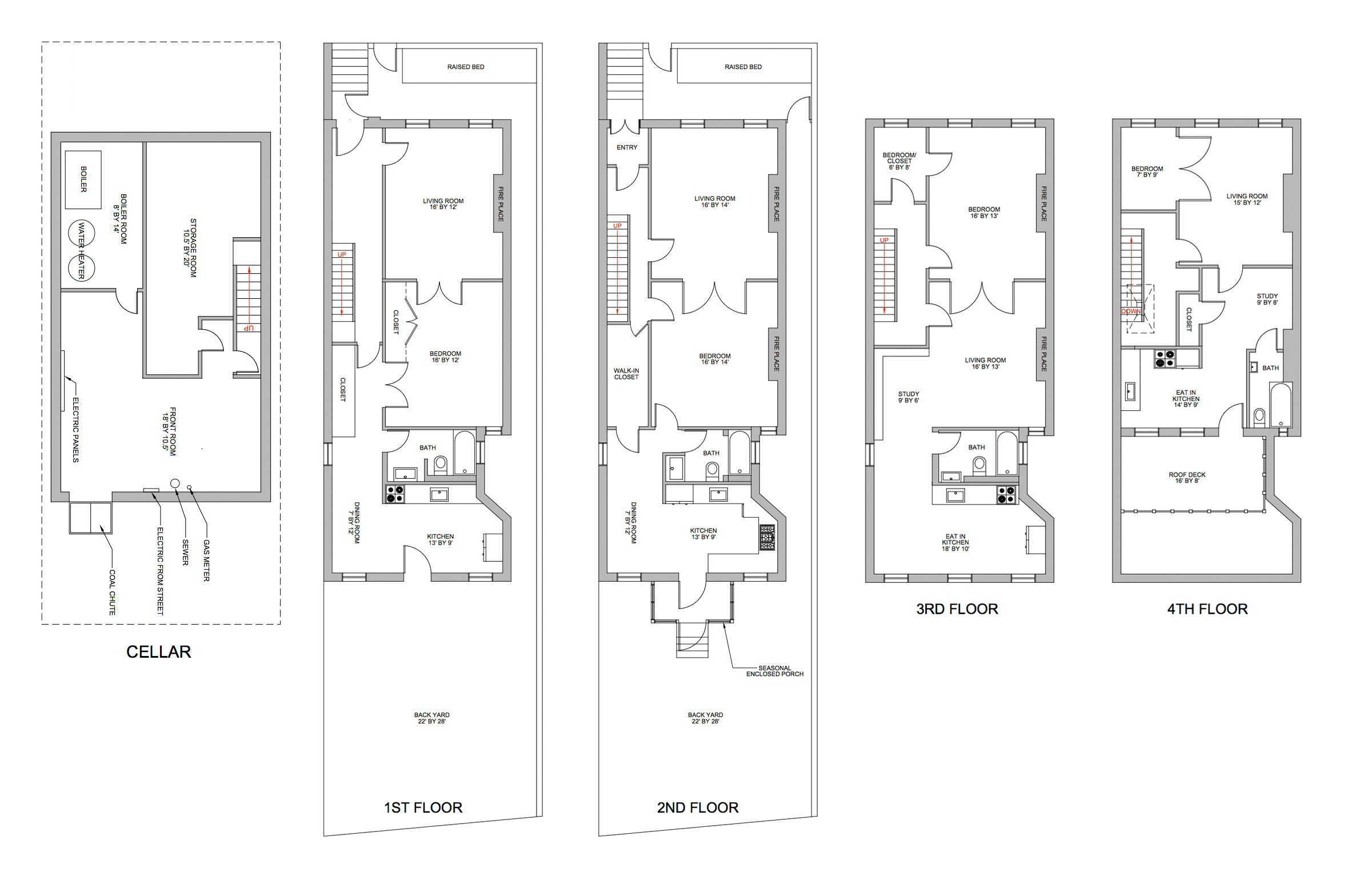 100 19th Century Floor Plans Mta 19th Century